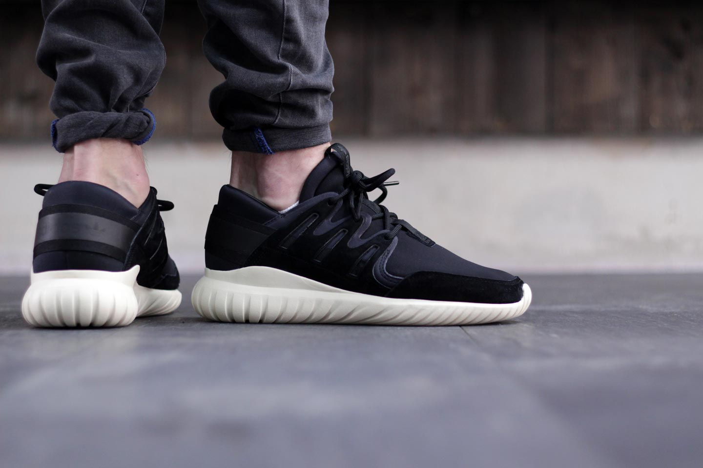 Review Adidas Tubular Nova PK Blackout