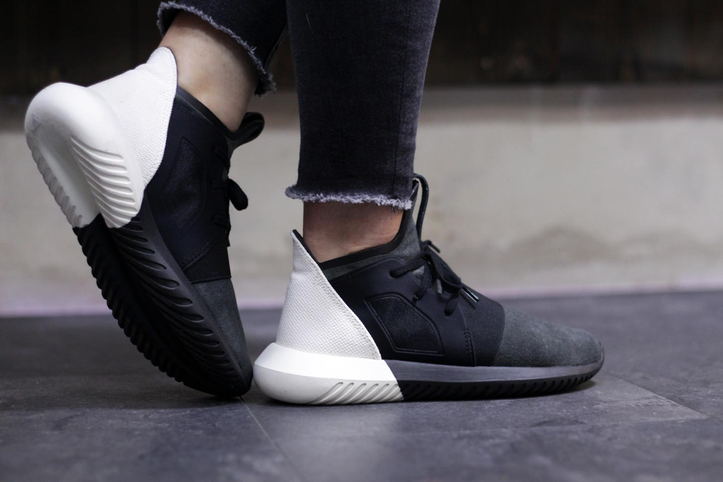 Adidas Tubular Defiant Core Black Off White