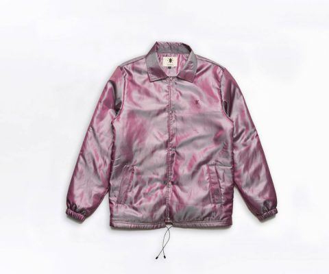 Purple Okavango Coach Jacket front