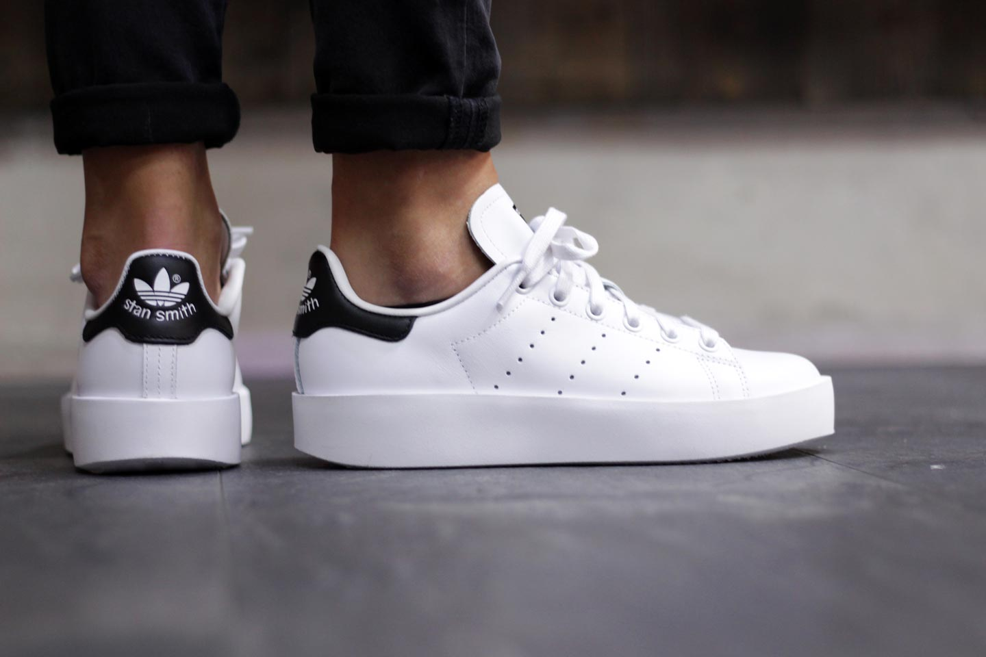adidas Stan Smith Bold (White)1 | Sapato
