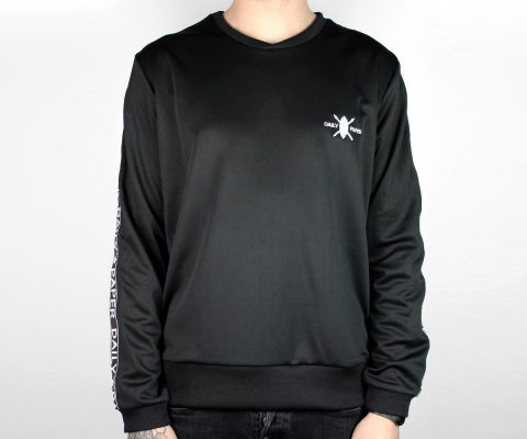 Daily Paper Black Tape Logo Sweater