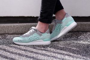 asics gel lyte iii light mint