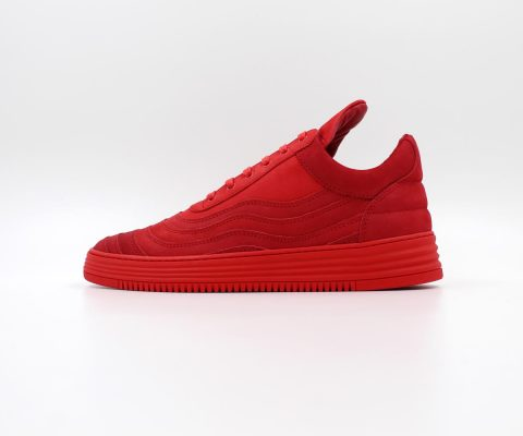 Filling Pieces Low Top Wavy (Red)