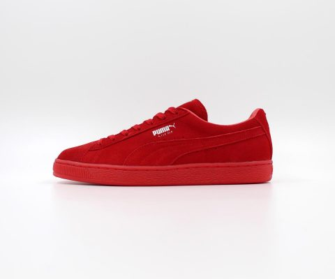 Puma Suede Classic Mono Ref Iced (Red)1