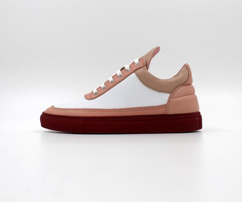 Filling Pieces Low Top Nude Bladeux White