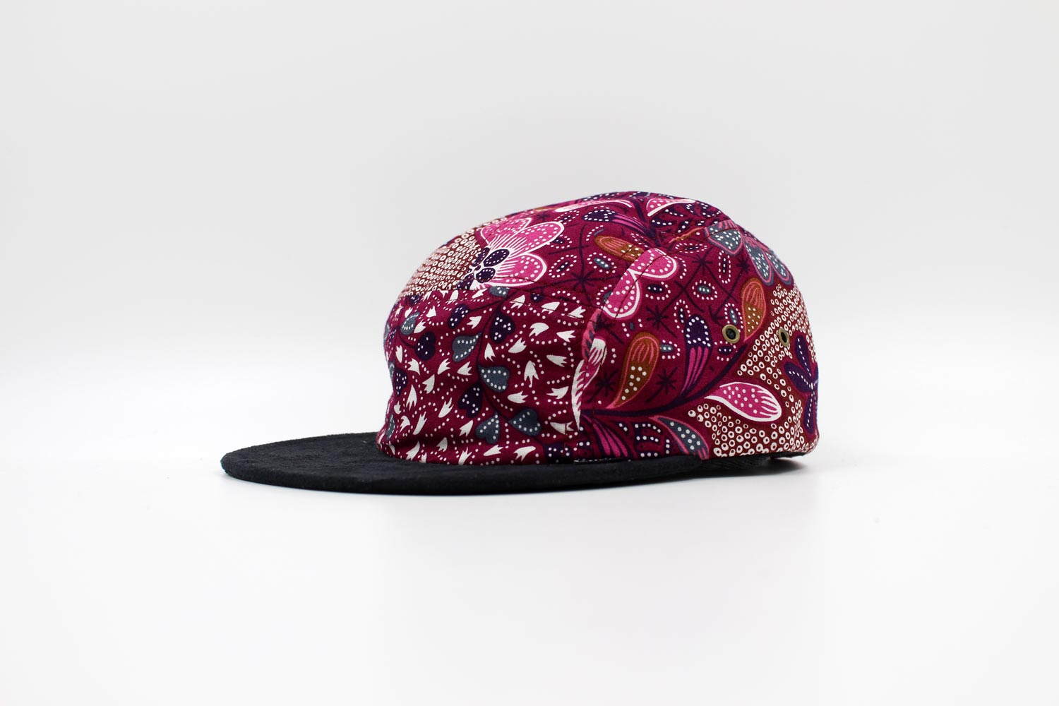 The Quiet Life | No Label 5 Panel (Maroon)
