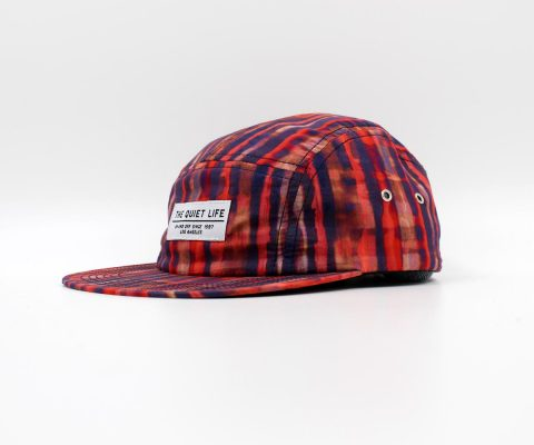 The Quiet Life | Batik 5 Panel (Red/Blue)