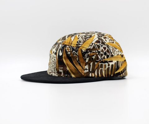 The Quiet Life | No Label 5 Panel (Gold Plains Fabric)