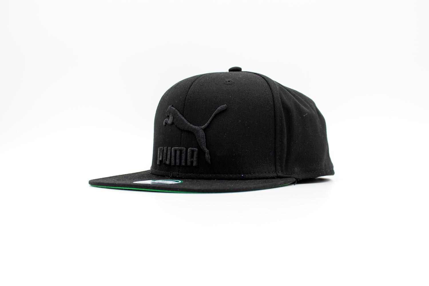 PUMA Colorblock Snapback Black