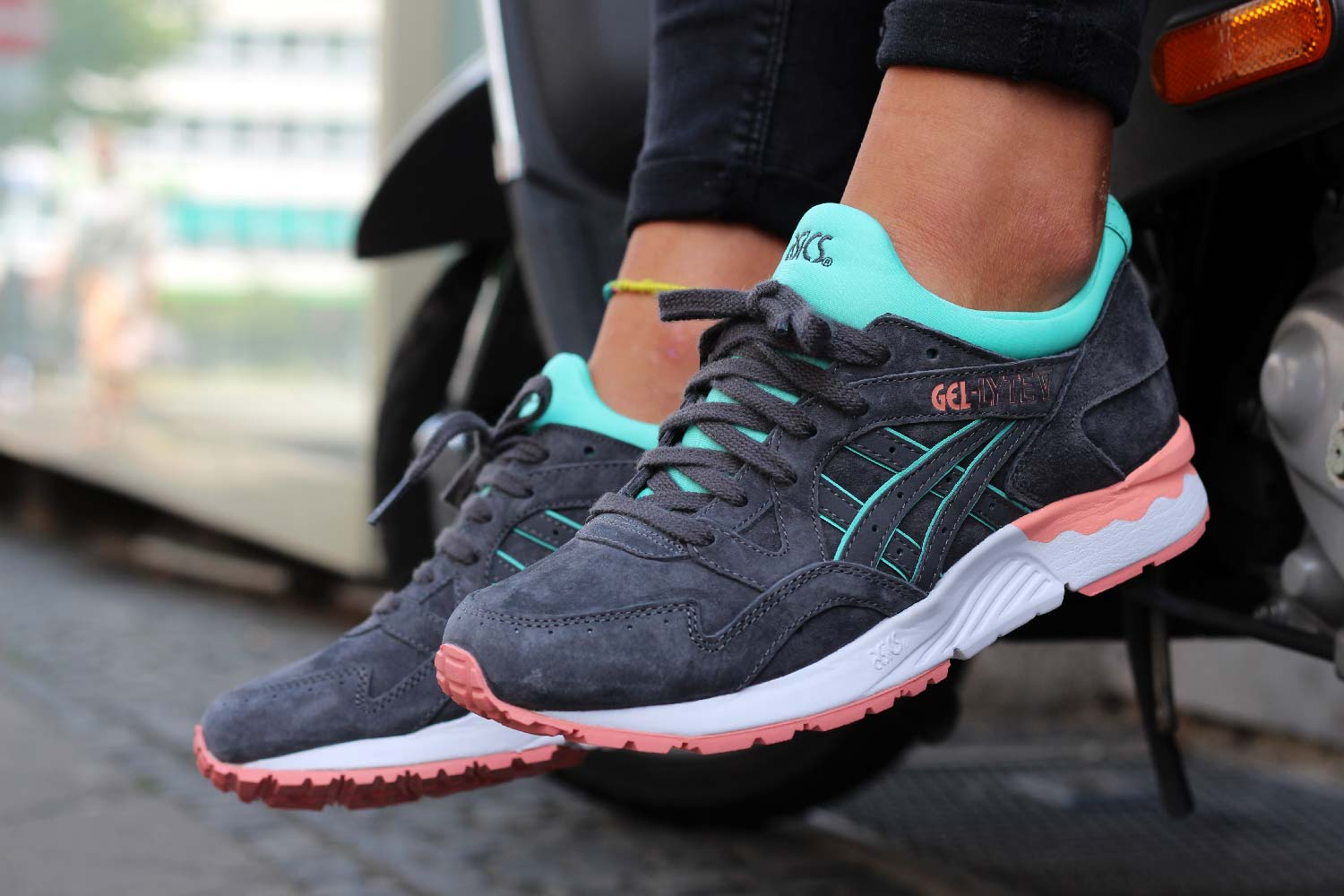 asics gel lyte 5 dark grey