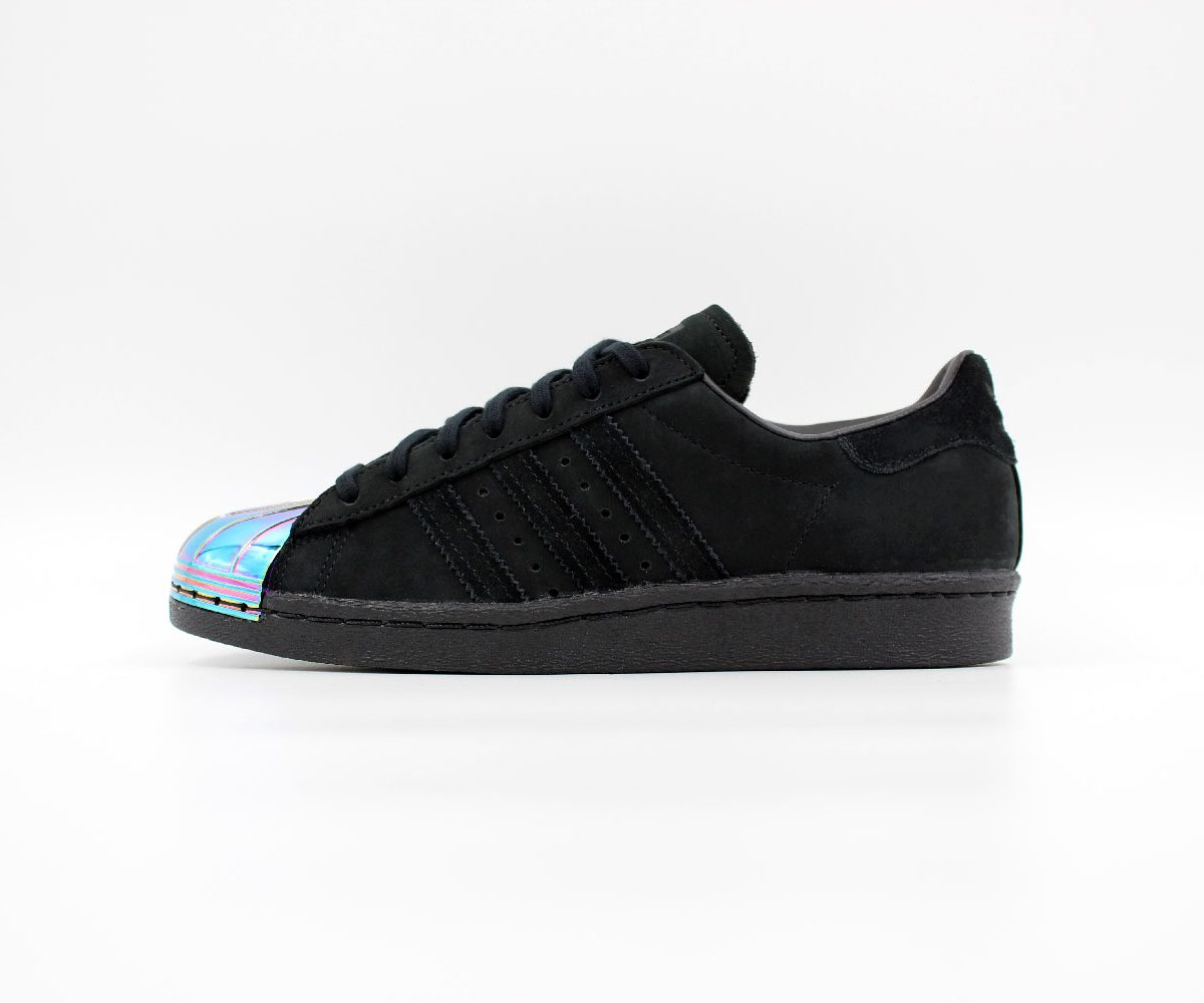 adidas superstar 80s metal toe black sapato sneakerstore. Black Bedroom Furniture Sets. Home Design Ideas