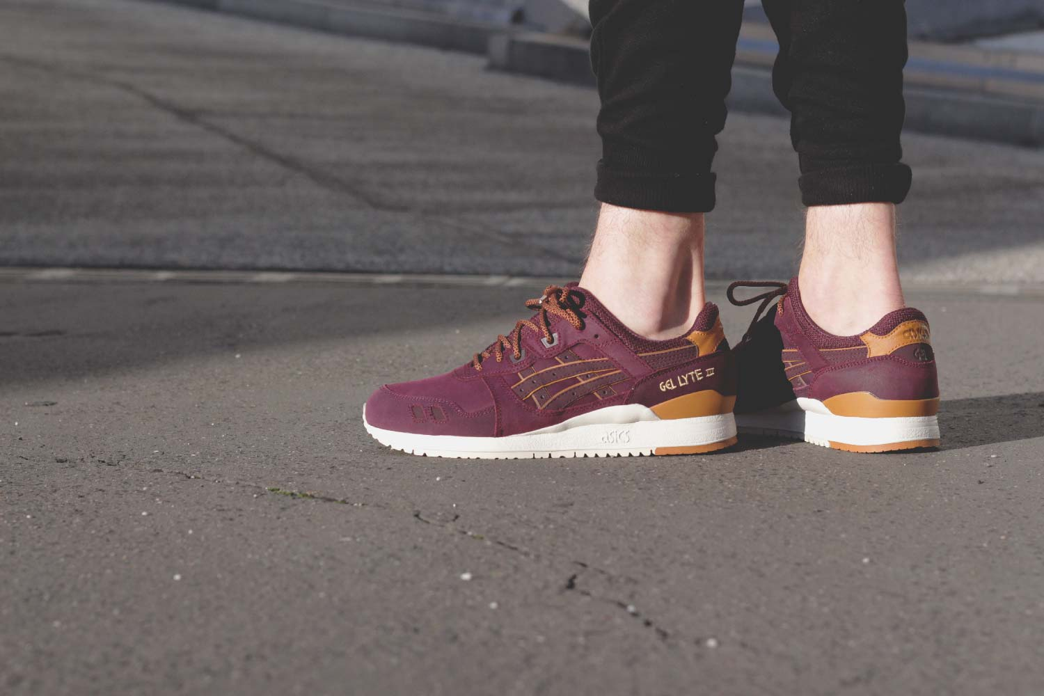 wholesale dealer 3a857 64401 Asics Gel-Lyte III Rioja Red   SAPATO Store