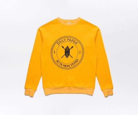 Daily Paper Sailor Sweater Yellow