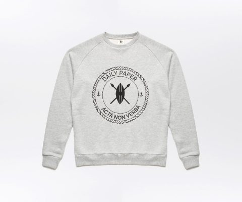 Daily Paper Sailor Sweater grey