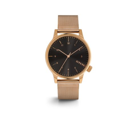 Komono Winston Royale Rose Gold Black