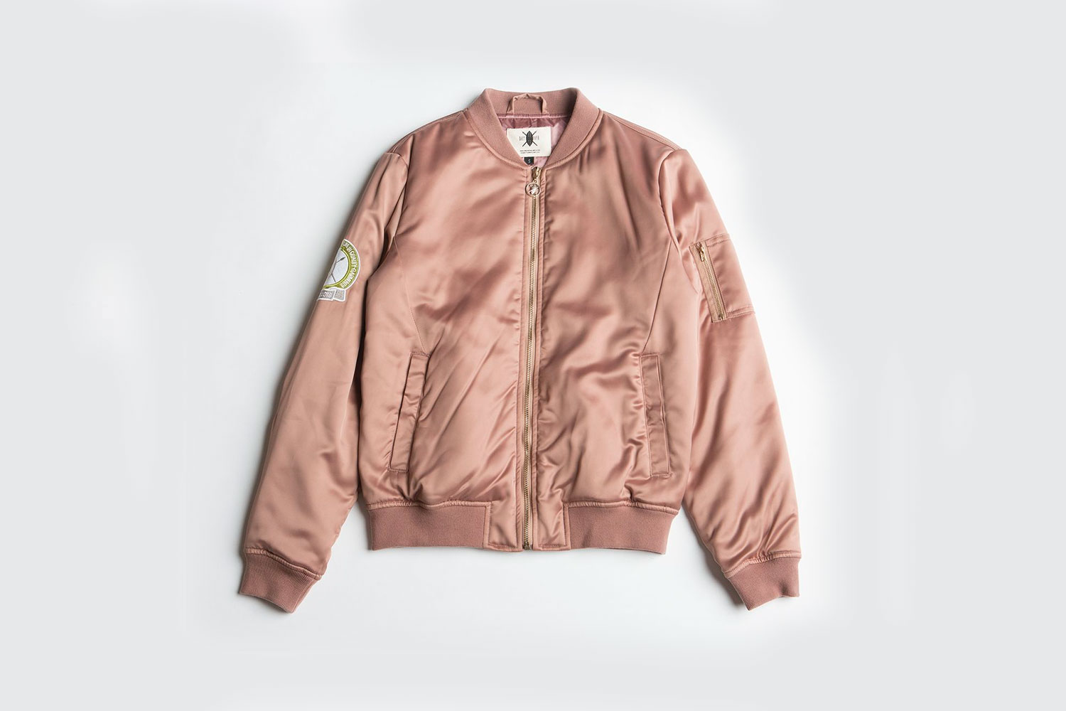 Daily Paper Premium Bomber Old Pink