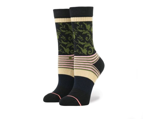Stance French Wall Crew Black