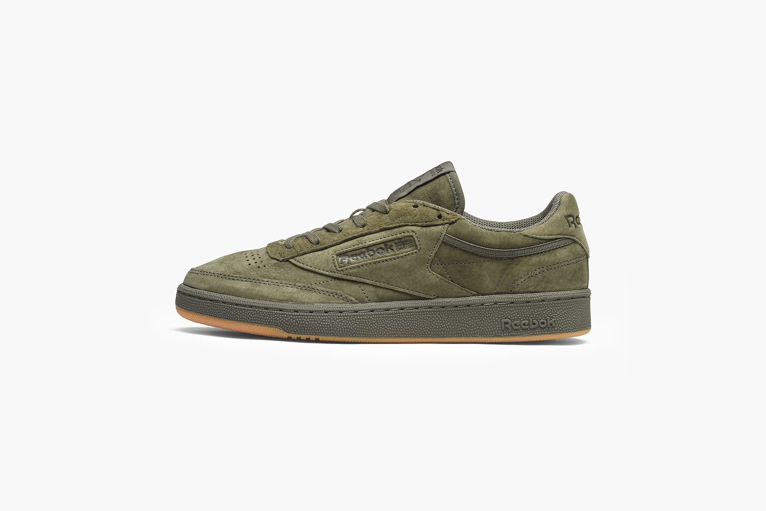 reebok club c 85 tg green bd4759 sapato sneakerstore. Black Bedroom Furniture Sets. Home Design Ideas