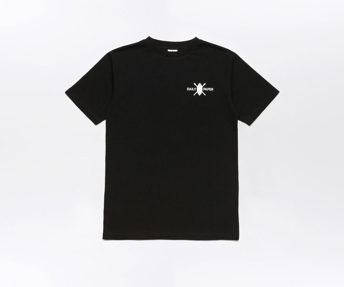 Daily Paper Flower Piece T-shirt Black 1
