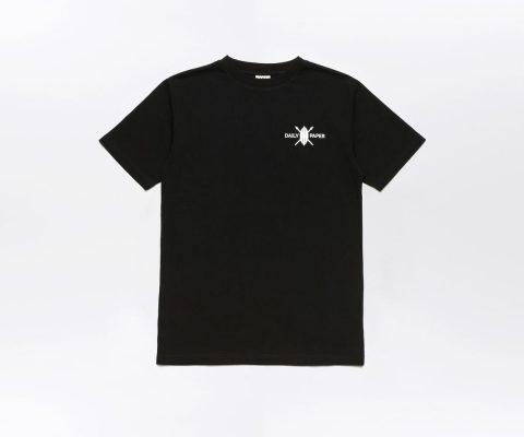 Daily Paper Flower Piece T-shirt Black