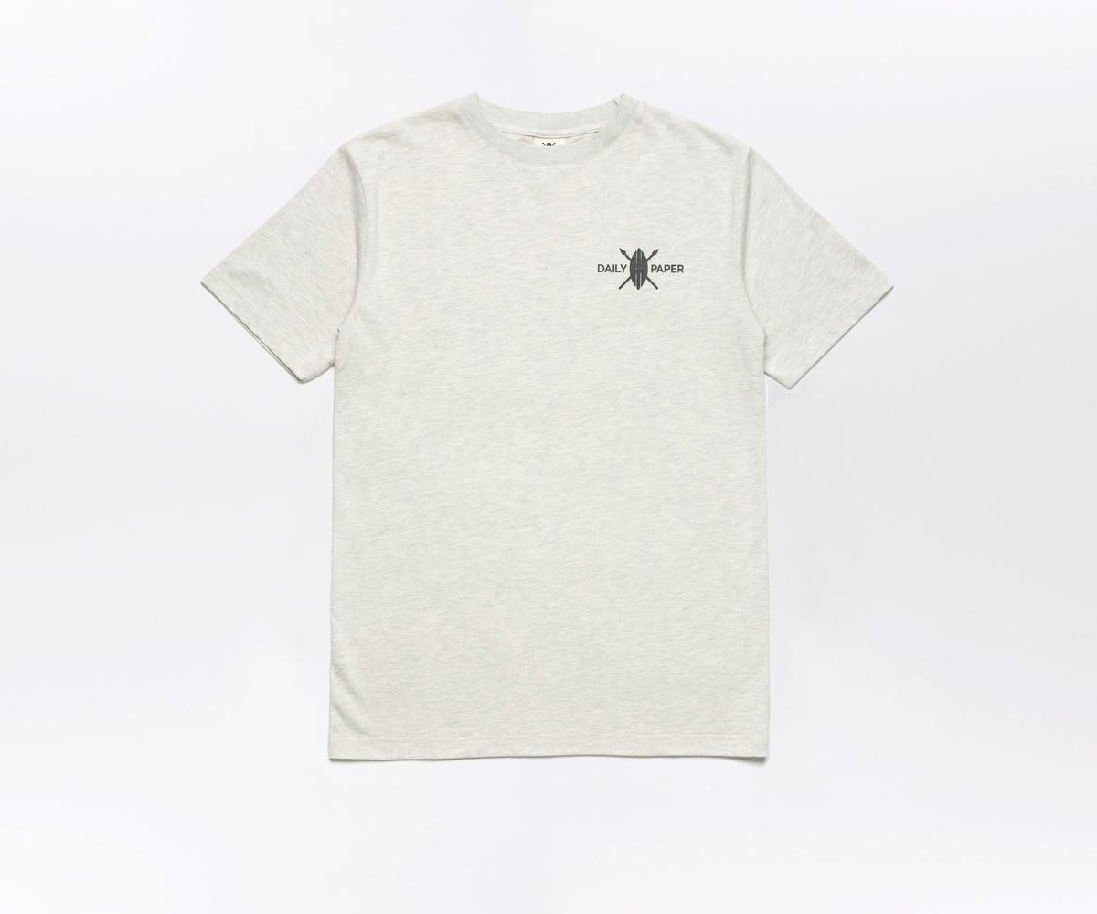 Daily Paper Flower Piece T-shirt Grey 1