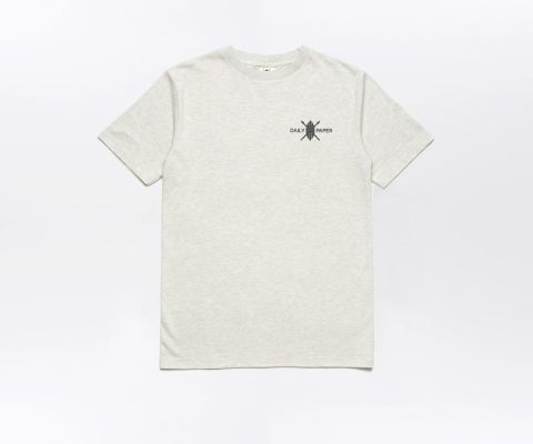 Daily Paper Flower Piece T-shirt Grey