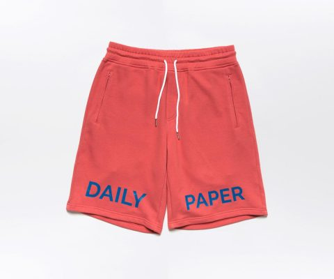 Daily Paper French Terry Short Salmon