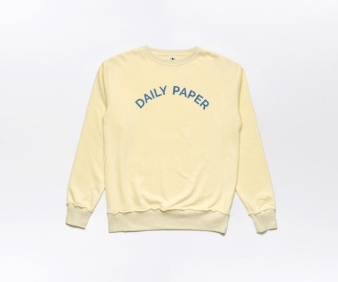 Daily Paper French Terry Sweater Lemon