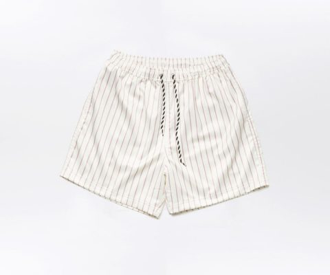 Daily Paper Satin Striped Shorts