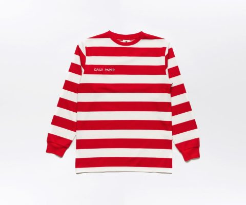Daily Paper Striped Longsleeve Red