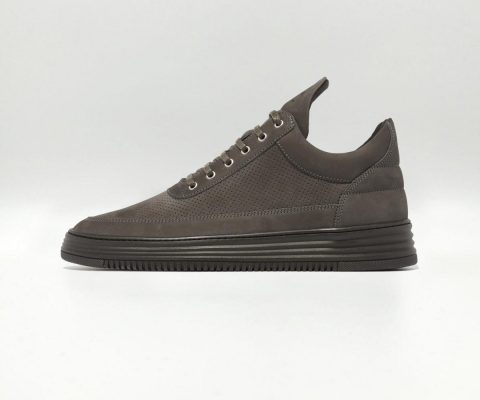 Filling Pieces Low Top Perforated Tone Antra