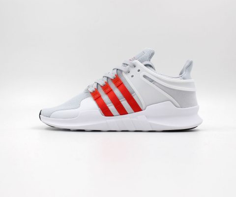 didas EQT Support ADV Clear Grey/Bold Orange