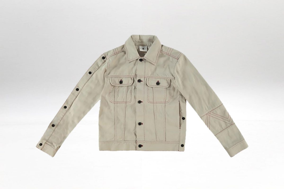 DAILY PAPER CHIP JACKET SAND