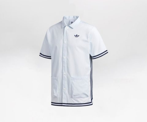 adidas Seersucker Shooting Shirt