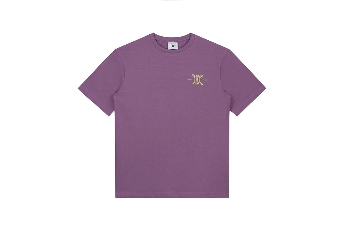 Daily Paper Tee Purple 2