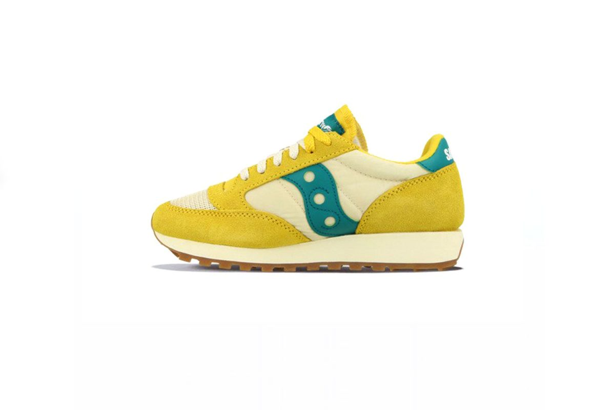 Saucony-Jazz Yellow