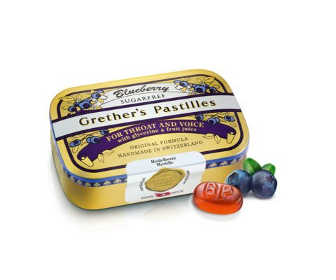 Grethers Pastilles Blueberry