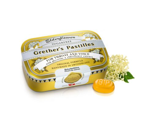 Grethers Pastilles Elderflower