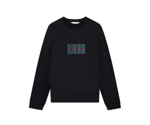 Filling-Pieces-Wavey-Text-crewneck-black-front